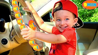 Mark and Wheels on the Bus + More Nursery Rhymes & Kids Songs from MarkLand