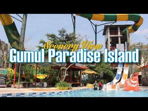 gumul-paradise-island,-kediri---scenery-view