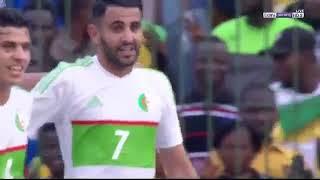ملخص مباراة الجزائر وتوجو 4 1وجنون المعلق   تصفيات افريقيا HD