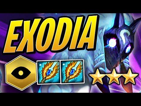 EXODIA KINDRED: 1000 DMG PER SECOND?! | Teamfight Tactics Set 2 | TFT | League of Legends Auto Chess