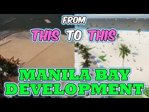 Manila Bay White Sand Beach Concept Redevelopment - Manila Bayfront