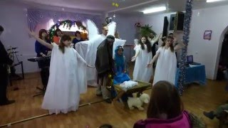 Рождественский Мюзикл - Постановка На Рождество - Прославление - Христианские Колядки!