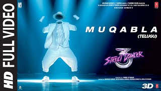 Full Video: Muqabla - Street Dancer 3D (Telugu) |A.R. Rahman | Prabhudeva | Varun D | Tanishk B