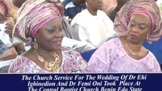 FORMER GOVERNOR OF EDO STATE CHIEF LUCKY IGBINEDION GIVES DAUGHTER OUT IN MARRIAGE