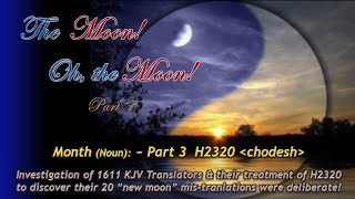 The Moon, Oh the Moon.. Part 7