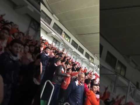 Adanaspor- Bursaspor maçı /saldır Adanaspor(21.01.2017)