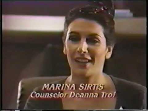Marina Sirtis Star Trek The Next Generation Pre Air Interview