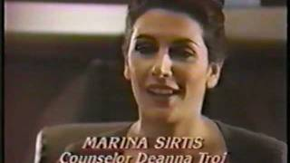 Marina Sirtis Star Trek The Next Generation Pre Air Interview