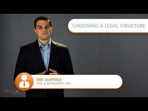 Choosing A Legal Structure For Your Mission driven Enterprise