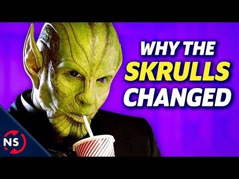 How Captain Marvel Changed The Skrulls...