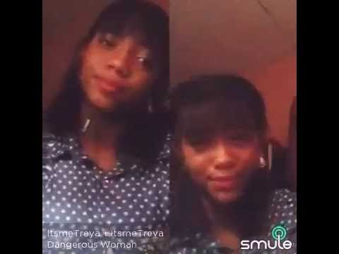 DANGEROUS WOMAN - ARIANA GRANDE - By TREYA Sing karaoke