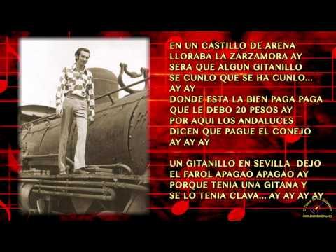 EL GITANO GROSERON - GILDARDO MONTOYA (CON LETRA)