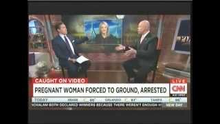 California pregnant woman arrest discussed on New Day May 29 2015