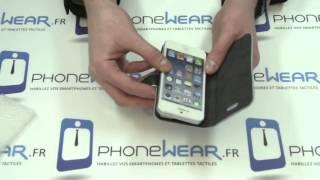 Test et présentation de l'étui iPhone 5 portefeuille simili cuir support vidéo