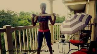Shape & Tone Your Arms With No Weights & No Pushups: HOW TO LOSE ARM FAT