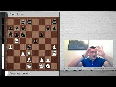 Aronian-Liren: Berlin Candidates, Round 1; What a crazy game!