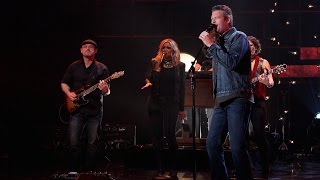 vuclip Blake Shelton Performs'Came Here to Forget'