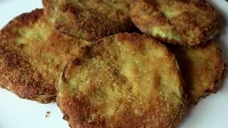 Crispy Fried Eggplant Recipe //বেগুন ভাজি রেসিপি