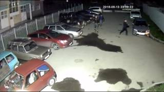 Кража аккумуляторов на Уралмаше