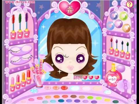 เกมส์แต่งหน้าทำผม เกมส์ที่เด็กหญิงสนใจเมื่อได้เห็นภาพตัวอย่าง
