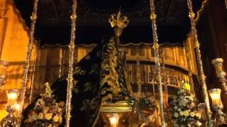 Semana santa malaga 2013, dolores del puente