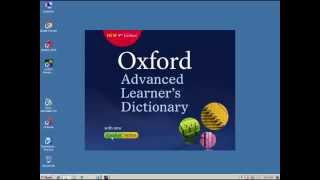 How to install Oxford Advanced Dictionary 9th Edition