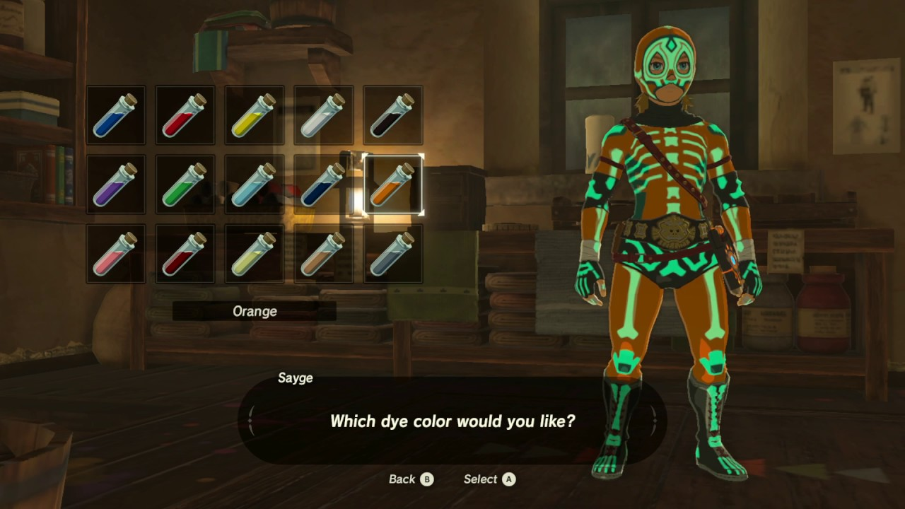 Radiant Armor Set The Legend Of Zelda Breath Of The Wild