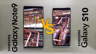 Benchmark - Note 9 (512GB) VS Galaxy S10