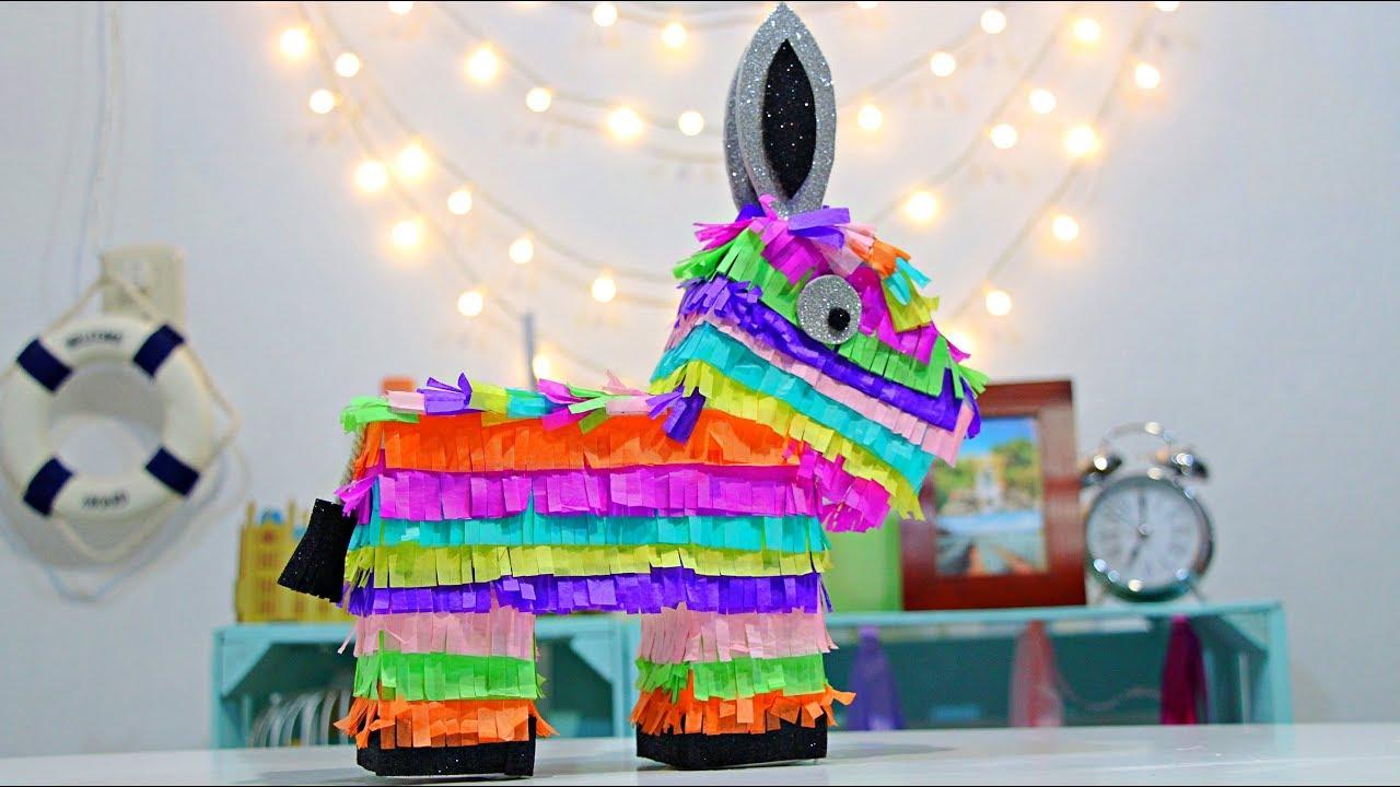 Como Hacer Piñata Mexicana De Burro Dulcero Alcancia Viva Mexico