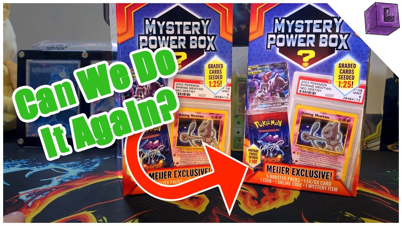 Opening Two More Meijer *EXCLUSIVE* Mystery Power Box