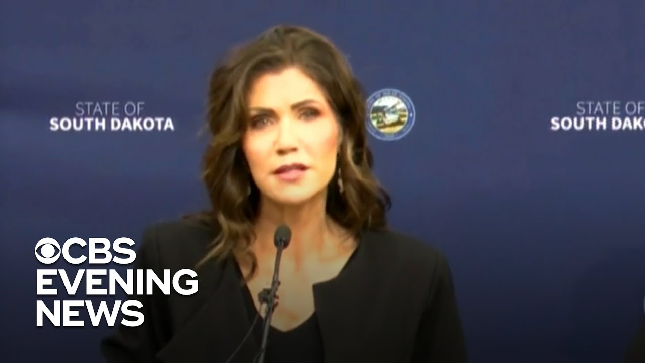 Kristi Noem calls out GOP governors for COVID-19 shutdowns, mask ...
