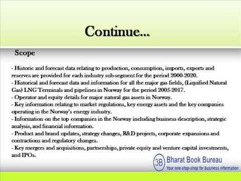 Bharat Book Presents : Norway Gas Markets, 2013