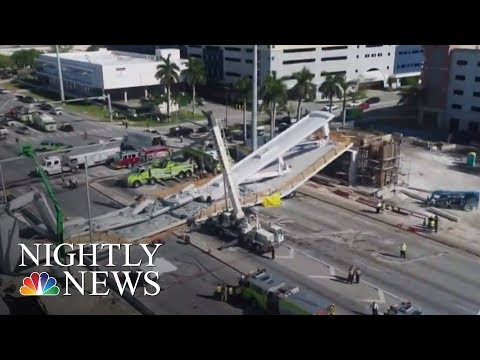 Collapsed Florida Bridge Was Built Using �lerated' Technology | NBC Nightly News