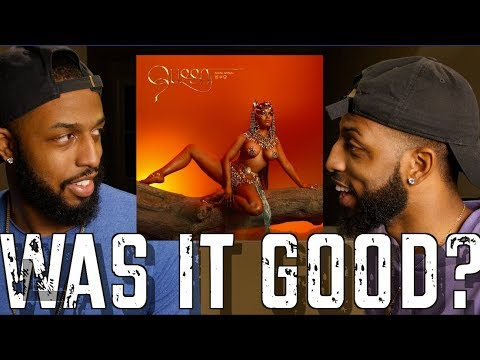 "NICKI MINAJ ""QUEEN"" ALBUM REACTION AND REVIEW #MALLORYBROS 4K"
