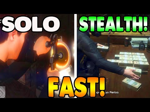 FASTEST Stealth Cayo Perico Heist (SOLO) With Full Take + Elite Challenge (GTA 5 Online)