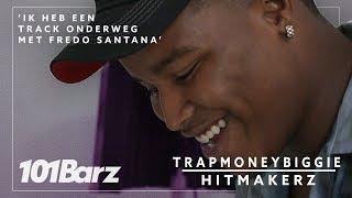 'Ik heb een track onderweg met FREDO SANTANA' - TRAPMONEYBIGGIE - Hitmakerz
