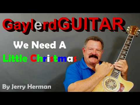 Need A Little Christmas (Acoustic Guitar Lesson) PREVIEW