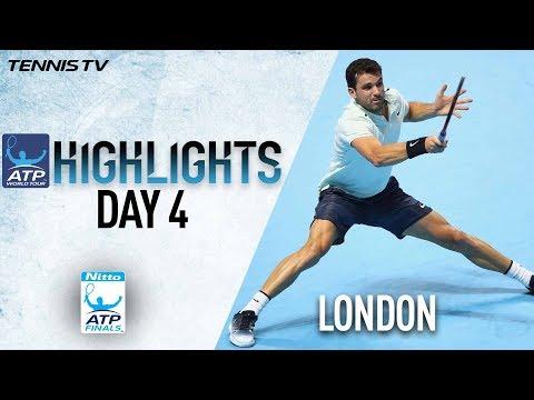 Highlights: Dimitrov Seals SF Berth, Thiem Wins In Nitto ATP Finals 2017