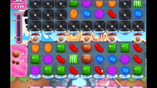 Candy Crush Saga level 738 (3 star, No boosters)