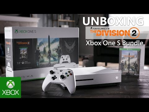 Unboxing Xbox One S Tom Clancy's The Division 2 Bundle (1TB)