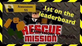 Rescue Mission - 1St Full Game Play - Roblox