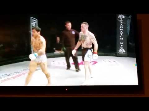 Pat White MMA Fight