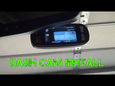 Black Box G1W Dash Cam Installation And Review