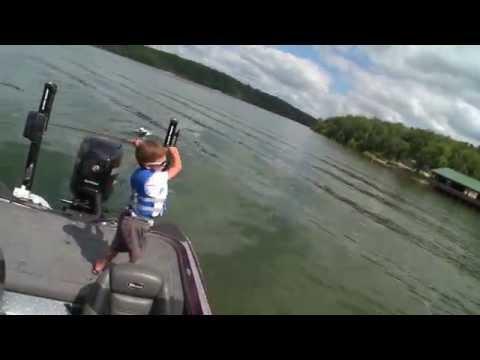 Fishing at Lake of the Ozarks