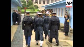 KOREA: REMAINS OF US SOLDIERS KILLED IN KOREAN WAR ARE RECOVERED