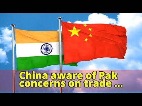 China aware of Pak concerns on trade deficit: Envoy