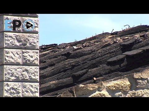Un incendio provoca daños en el Recuncho de María y Pepe, en Castroverde