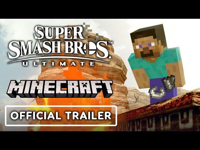 Super Smash Bros. Ultimate - Minecraft Reveal Trailer