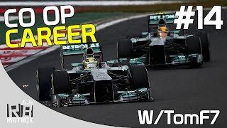 F1 2013 CO OP Career Mode Walkthrough PC Mercedes - Part 14 - Korea (with TomF7)