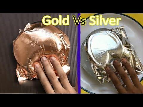 Gold Slime Vs Silver Slime asmr Video ~ 📺 House of diy